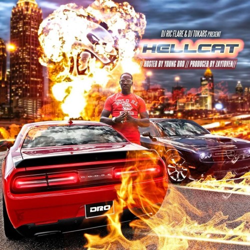 Young Dro - Hell Cat Cover Art