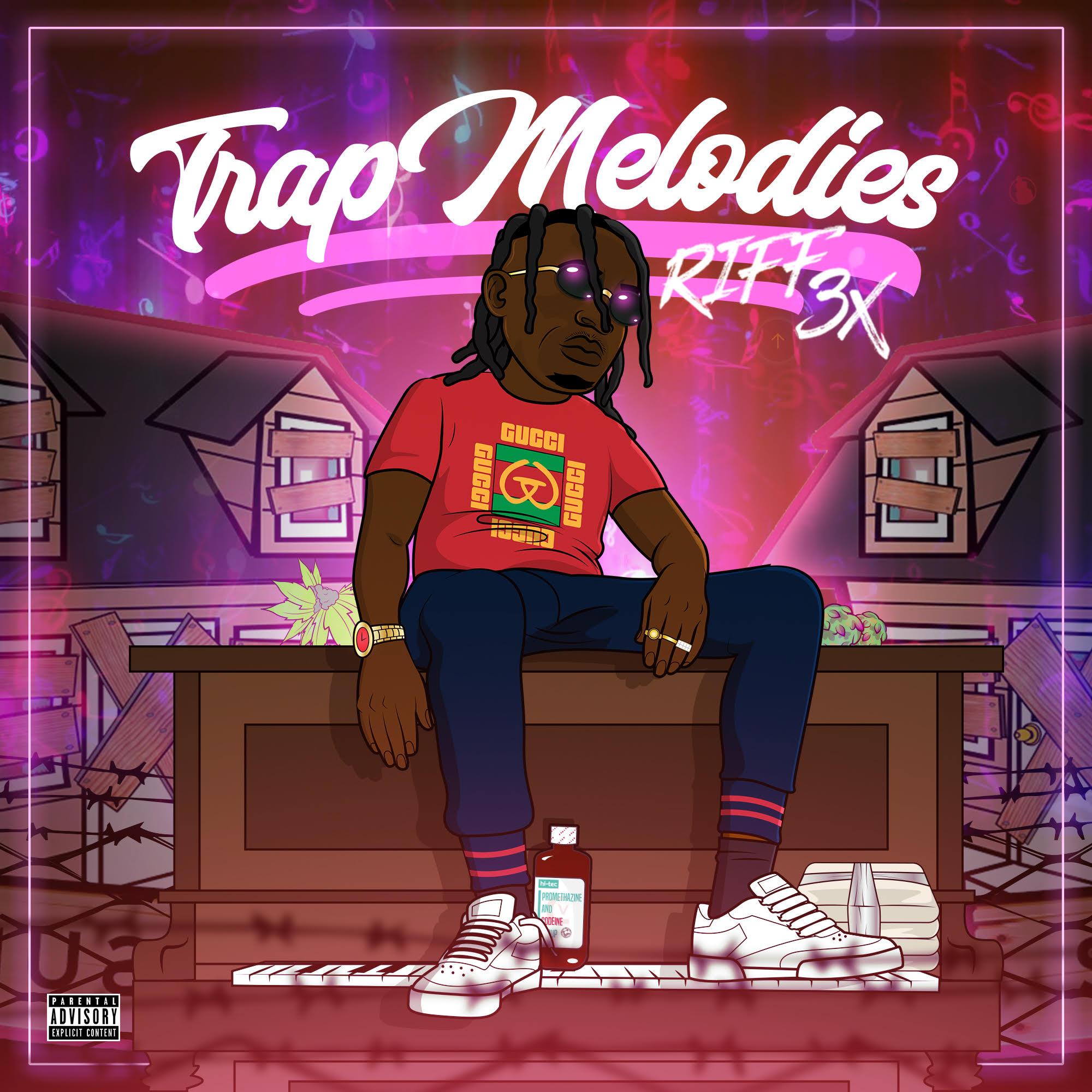 Riff 3x - Trap Melodies Cover Art