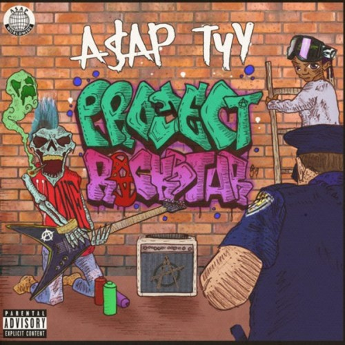 A$AP TyY - Project Rockstar Cover Art
