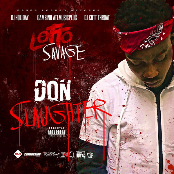 Lotto Savage - Don Slaughter Cover Art