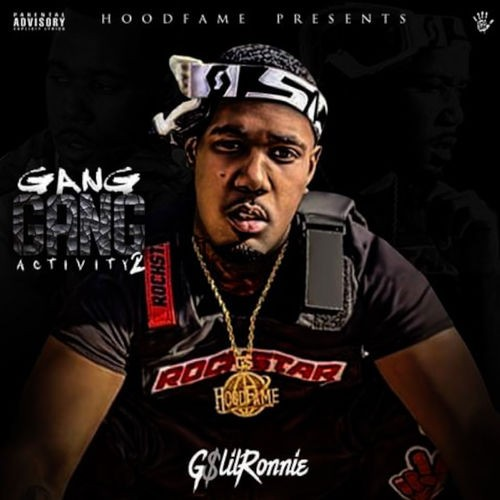 G$ Lil Ronnie - Gang Gang Activity 2 Cover Art