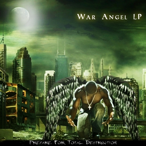 50 Cent - War Angel LP Cover Art