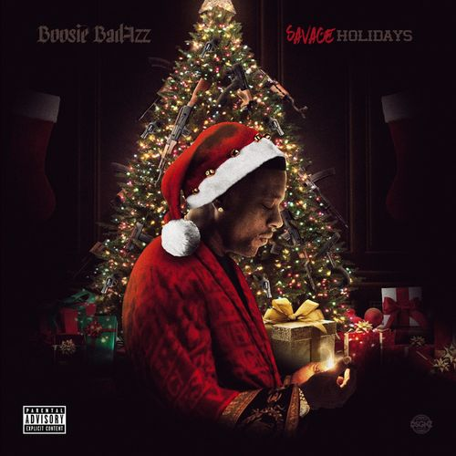Boosie Badazz - Savage Holidays Cover Art