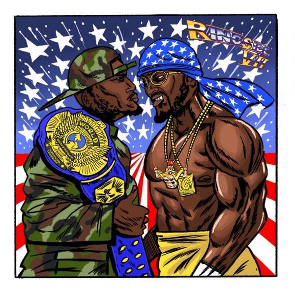 Smoke DZA - Ringside 7 Cover Art