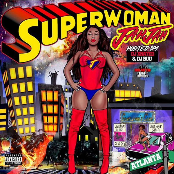 Jah Jah - Superwoman Cover Art
