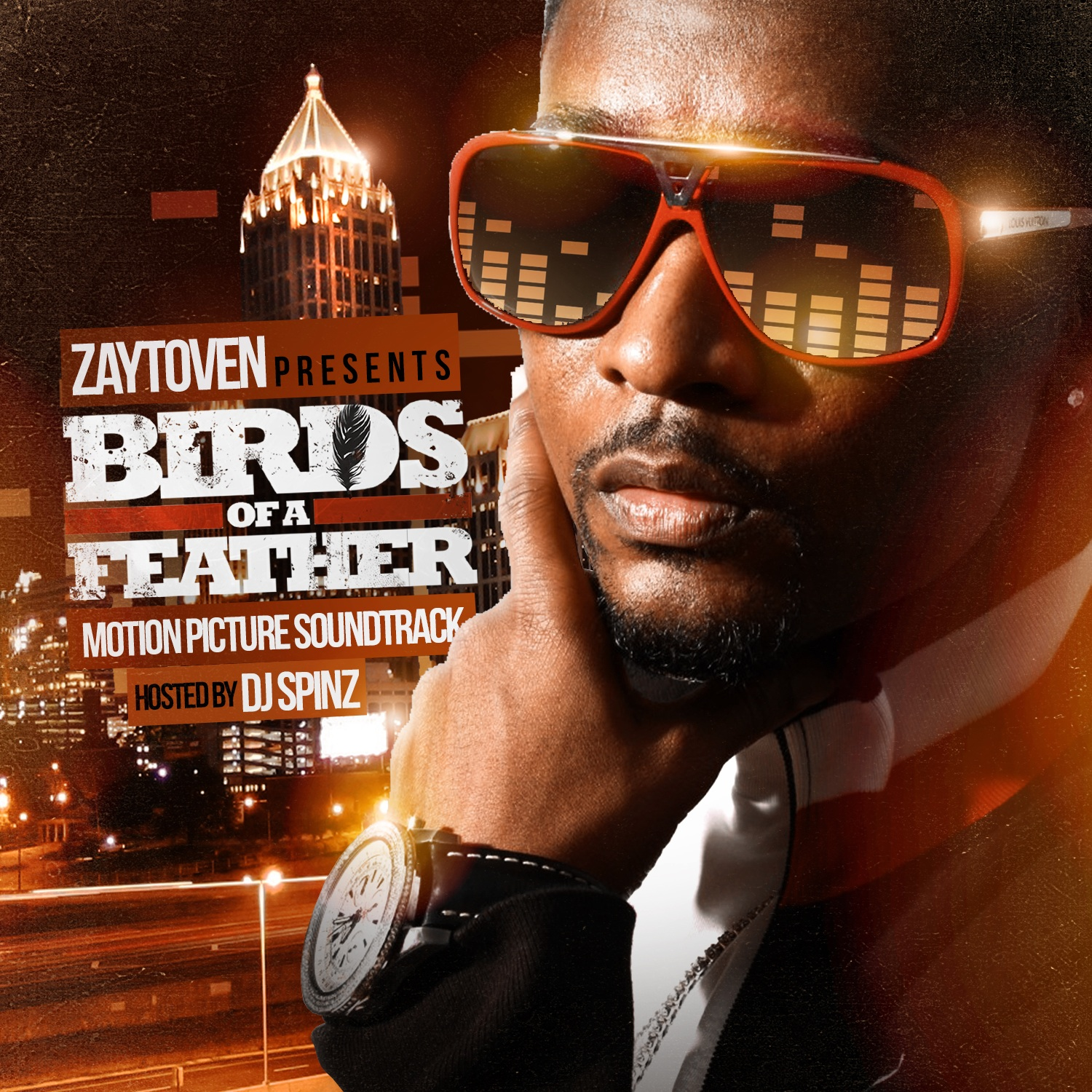 Zaytoven & Various Artists - Birds Of Feather Motion Picture Soundtrack (Presented By Zaytoven) Cover Art