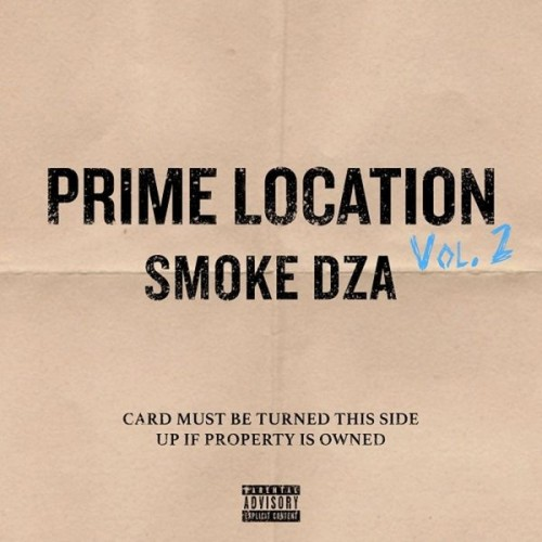 Smoke DZA - Prime Location Vol. 2 Cover Art