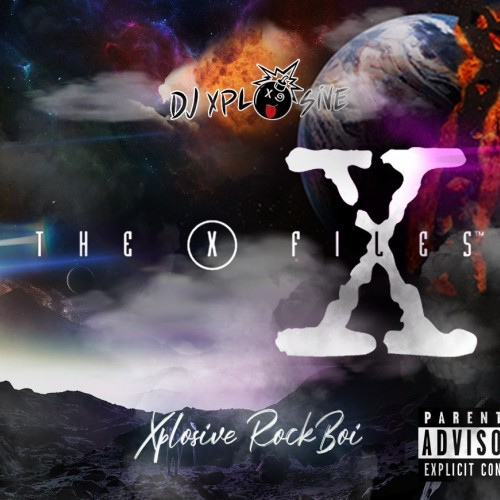 Xplosive Rockboi - X Files Cover Art