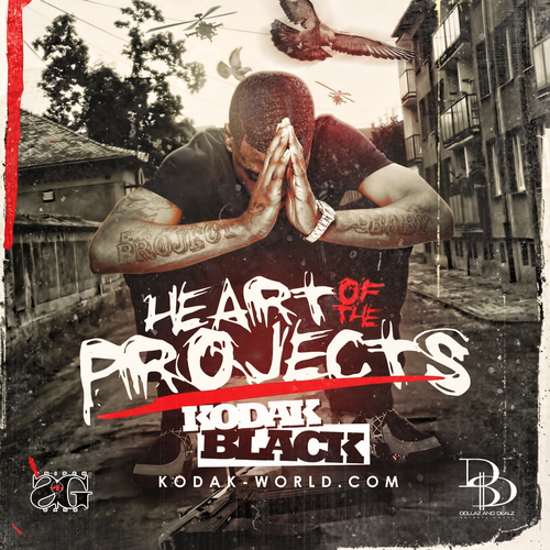 Kodak Black - Heart Of The Projects Cover Art
