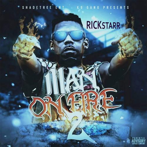 RickStarr - Man On Fire 2 Cover Art