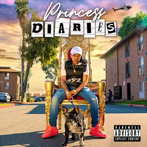 Azjah - Princess Diaries Cover Art