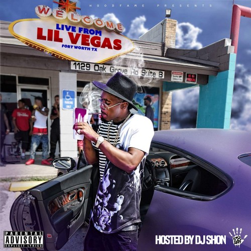 G$ Lil Ronnie - Live 4rm Lil Vegas Cover Art