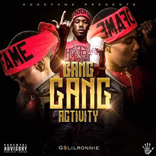 G$ Lil Ronnie - Gang Gang Activity Cover Art