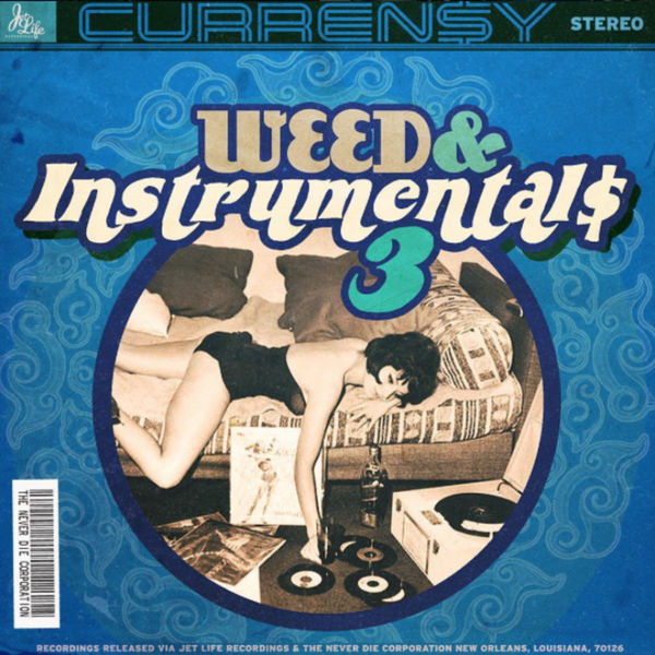 Curren$y - Weed & Instrumentals 3 Cover Art