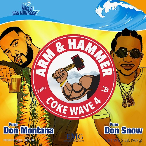French Montana & Max B - Coke Wave 4 Cover Art