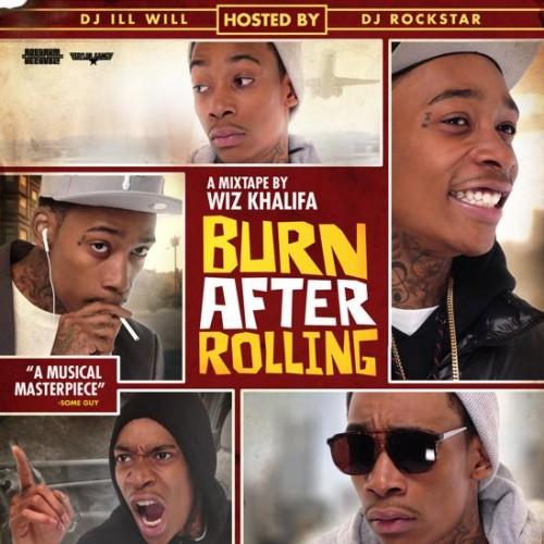 Wiz Khalifa - Burn After Rolling Cover Art