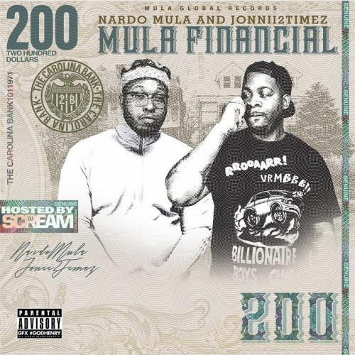Nardo Mula & Jonnii2Timez - Mula Financial Cover Art