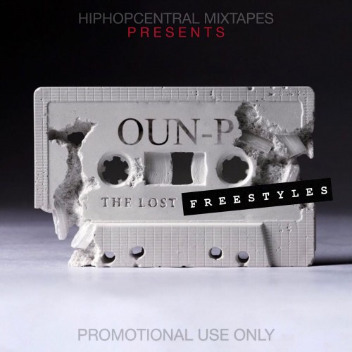 Oun-P - The Lost Freestyles Cover Art