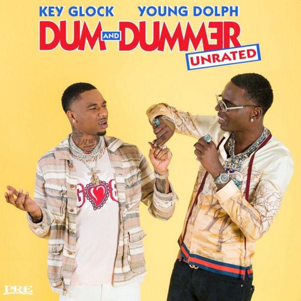 Young Dolph & Key Glock - Dum & Dummer Cover Art
