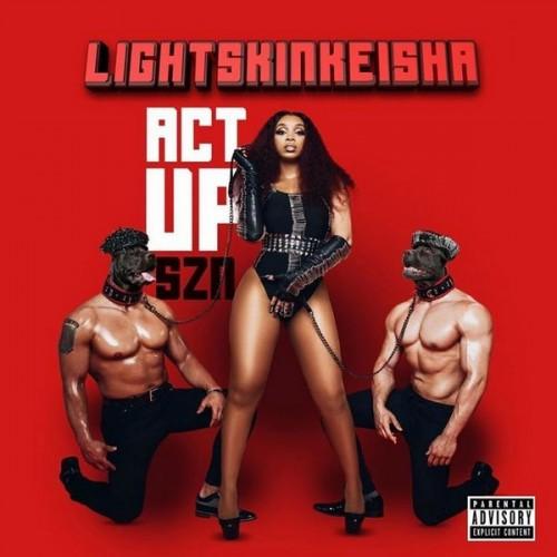 LightSkinKeisha - Act Up Cover Art