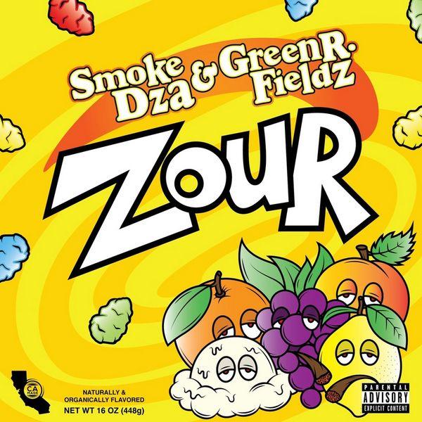 Smoke DZA - ZOUR Cover Art