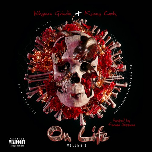 WhyMen Grindin & Kwony Cash - On Life Cover Art