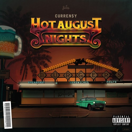 Curren$y - Hot August Nights Cover Art