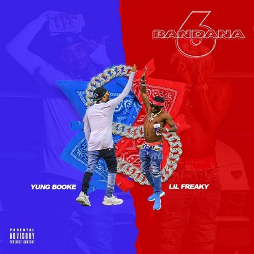 Yung Booke & Lil Freaky - Bandana 6 Two Cover Art