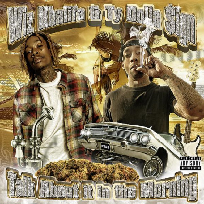 Wiz Khalifa & Ty Dolla $ign - Talk About It In The Morning EP Cover Art
