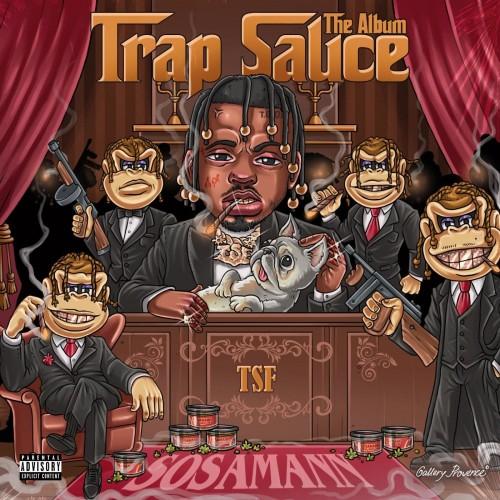 Sosamann - Trap Sauce: The Album Cover Art