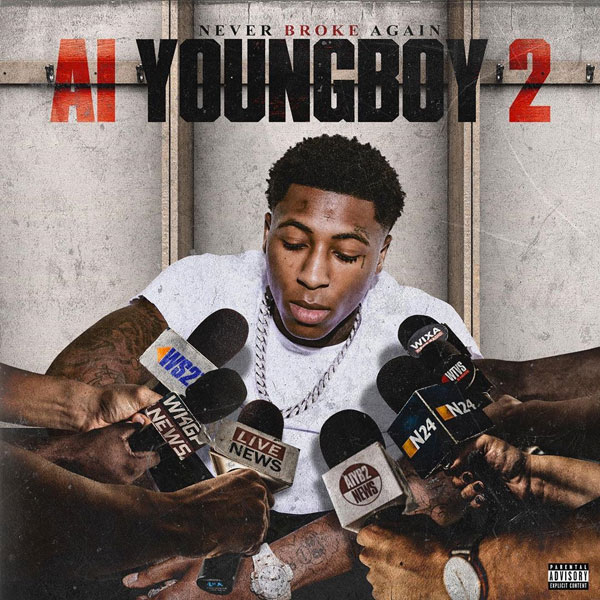 NBA YoungBoy - AI YoungBoy 2 Cover Art