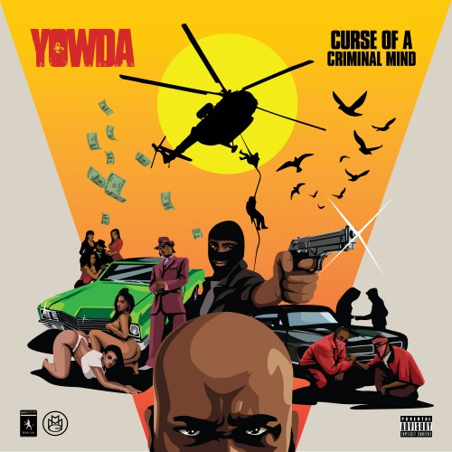 Yowda - Curse Of A Criminal Mind Cover Art