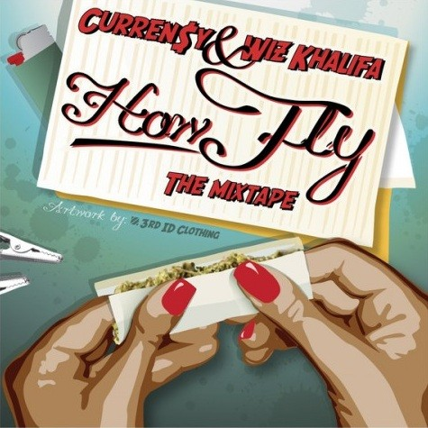Curren$y & Wiz Khalifa - How Fly (The Mixtape) Cover Art
