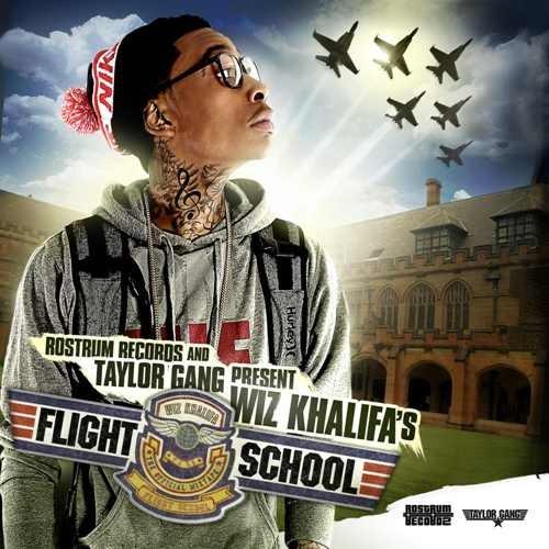 Wiz Khalifa - Flight School Cover Art