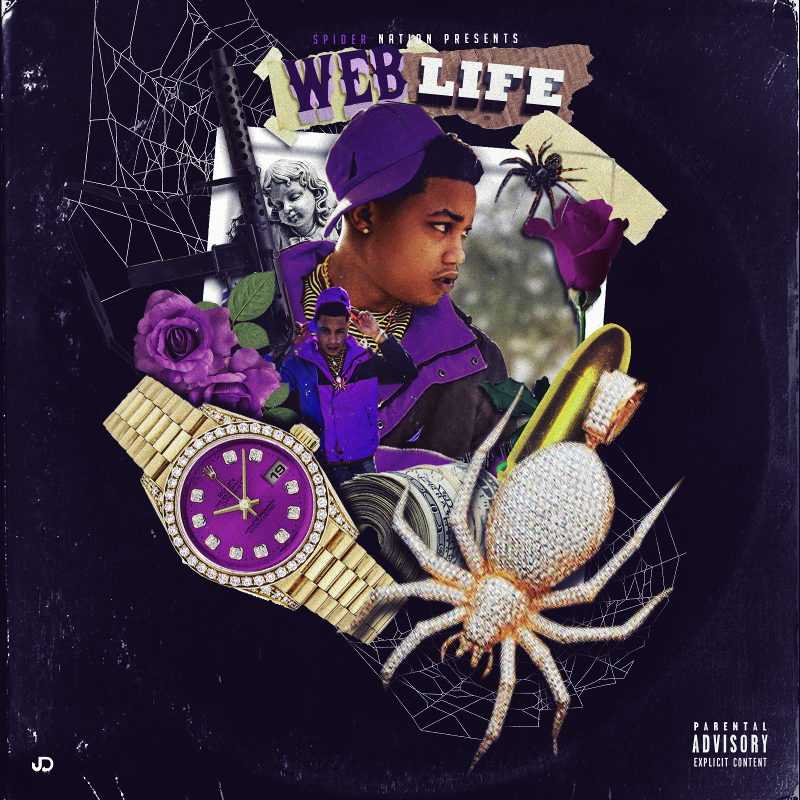T.E.C. - Web Life Cover Art