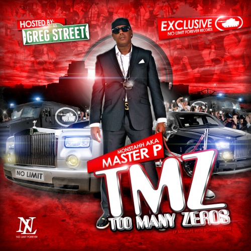 Master P - TMZ (Too Many Zeros) Cover Art