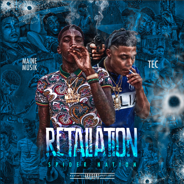 Maine Musik & T.E.C. - Retaliation Cover Art