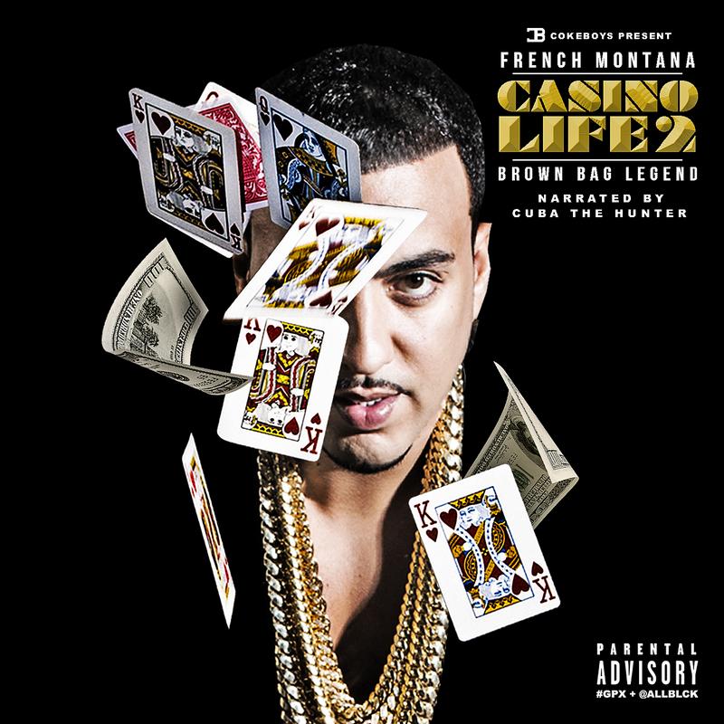 French Montana - Casino Life 2 (Brown Bag Legend) Cover Art