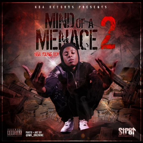 NBA Youngboy - Mind Of A Menace 2 Cover Art