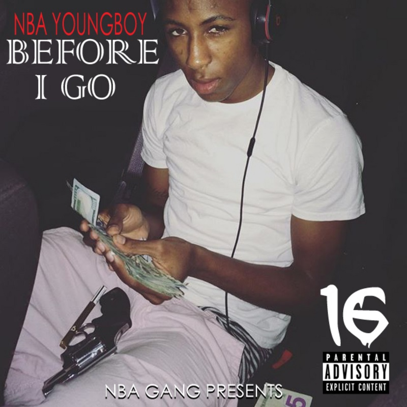 NBA Youngboy - Before I Go Cover Art
