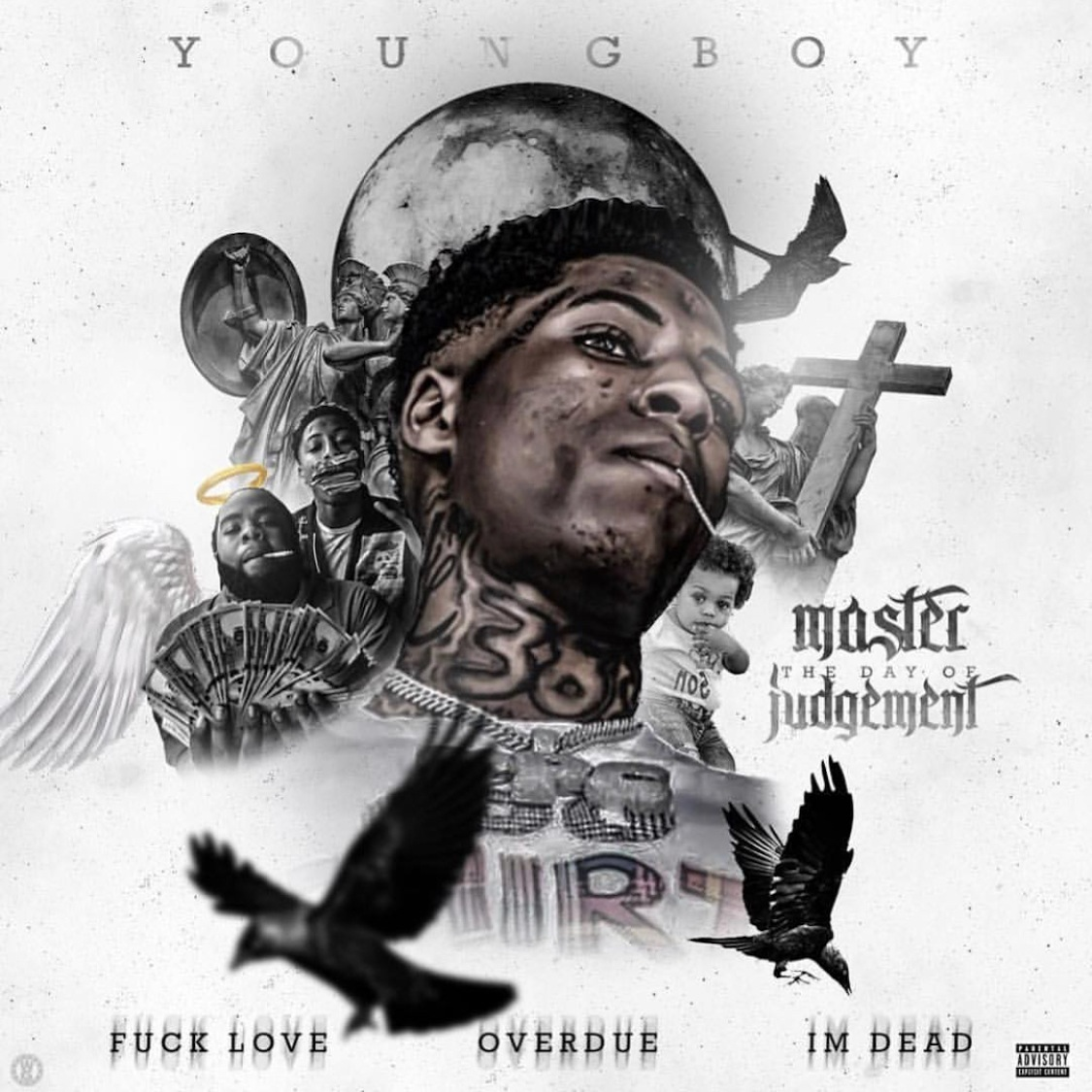 NBA Youngboy - Master The Day Of Judgement Cover Art