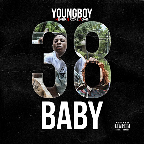 NBA Youngboy - 38 Baby Cover Art