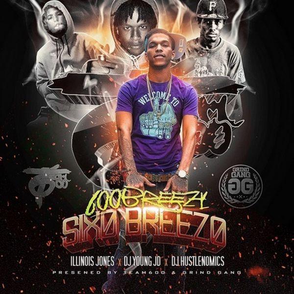 600Breezy - Six0 Breez0 Cover Art