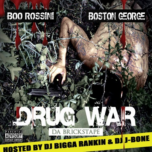Boo Rossini & Boston George - Drug War Cover Art
