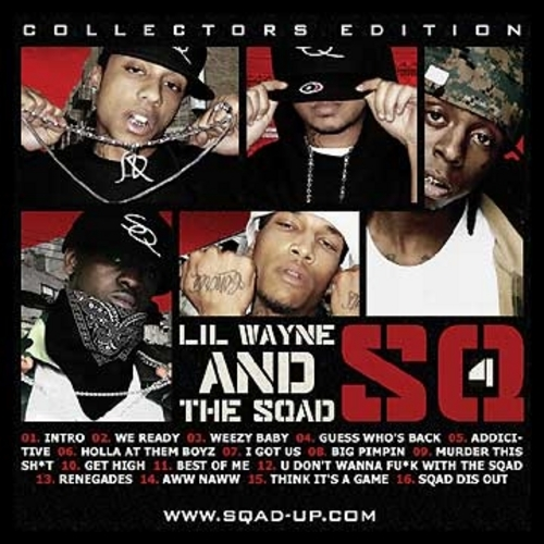 Lil Wayne And The Sqad - SQ4 Cover Art