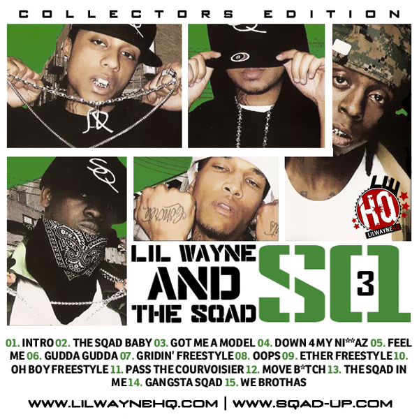 Lil Wayne And The Sqad - SQ3 Cover Art