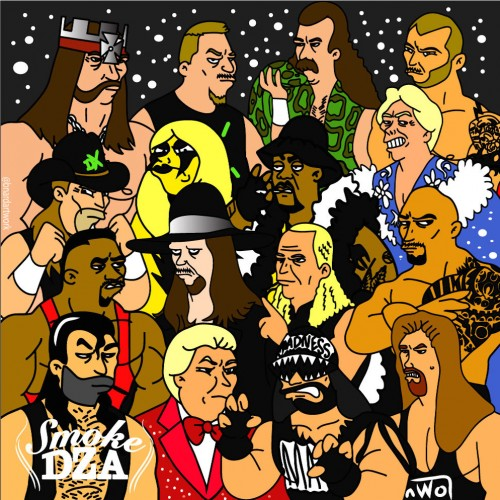 Smoke DZA - Ringside 2 (EP) Cover Art
