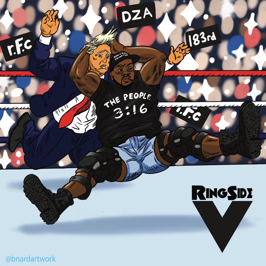 Smoke DZA - Ringside 5 Cover Art
