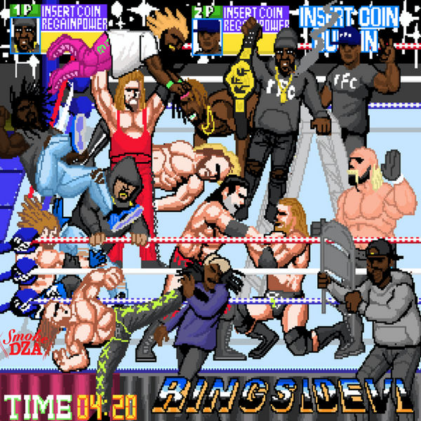 Smoke DZA - Ringside 6 Cover Art