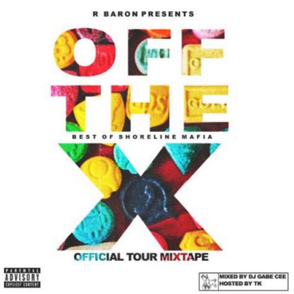 Shoreline Mafia - Off The X: Official Tour Mixtape Cover Art